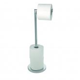 Porte-Papier Toilette en acier Inox
