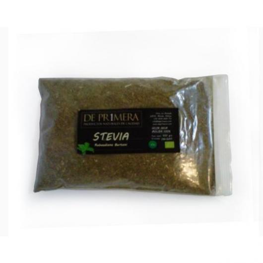 Feuilles de stévia séchées et moulues De Pr1mera, 500 g