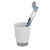 Contenitore spazzolino da denti Vercelli, cromo