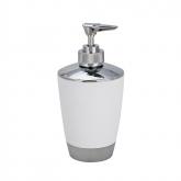 Dosificador jabón Vercelli, cromo