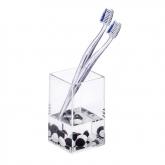 Vaso higiene dental Danube, transparent
