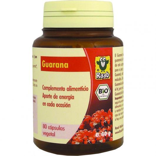 Gélules de guarana Raab, 80 pièces