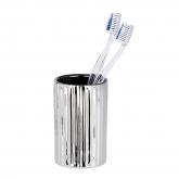 Vaso higiene dental Polaris Riff, cromo