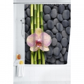 Cortina baño 180x200, Polyester, SPA