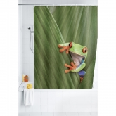 Tendina da bagno 180x200,Polyester, Rana