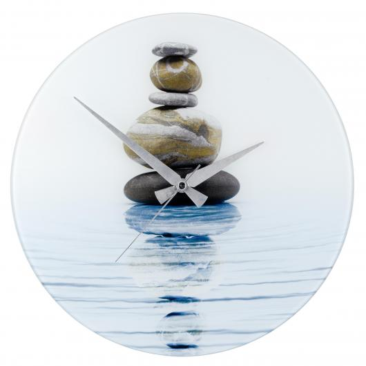 Reloj del pared Ø 37 cm, Meditation