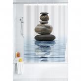Cortina baño 180x200, Polyester, Meditation