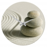 Horloge Murale Ø 37 cm, Sand and Stone