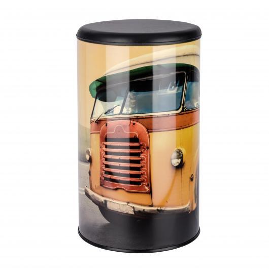Tabouret et Boîte Vintage Bus 54 L