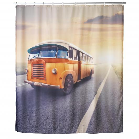 Tendina bagno, Vintage Bus antimoho