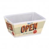 Cesta de baño Vintage Open