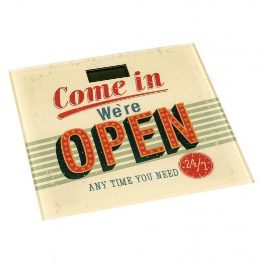 Pèse Personne Vintage Open