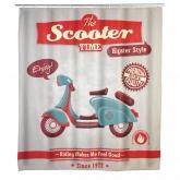 Tendina da bagno, Vintage Scooter antimoho