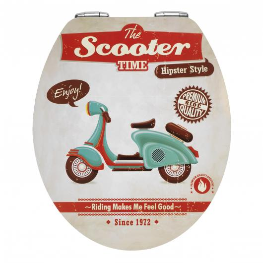 Coprivaso WC Vintage Scooter,MDFMetal