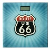 Bilancia da bagno Vintage Route 66
