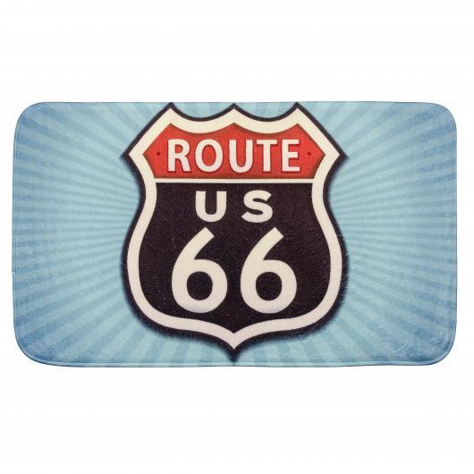 Esterilla baño Vintage Route 66