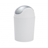 Cubo tapa basculante Vercelli cromo 4,5