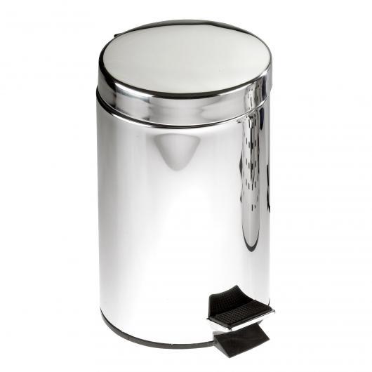 Poubelle de Salle de Bain avec Pédale, 3 litres