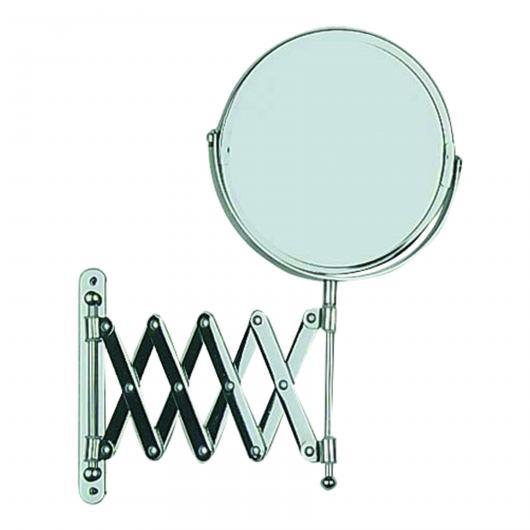 Specchio a muro per cosmetici telescopico