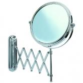 Espejo cosmética telesc. Delux 20cm 500%