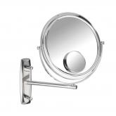 Specchio a muro Bivona, braccio orizzontale