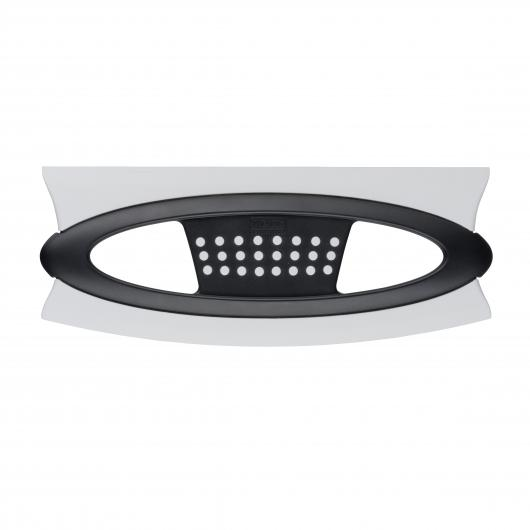 Raclette de Douche Scanno Duo, noir/blanc