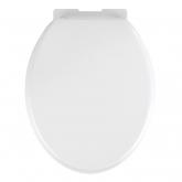 Cuvette WC Bormio, blanc, Thermoplastique