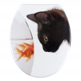 Cuvette WC Fish & Cat, Duroplast