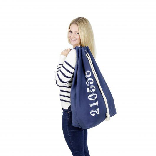Borsa per il bucato Sailor azzurro