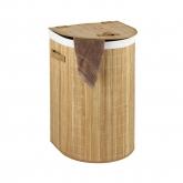 Cesto pongotodo Bambooleo semicircular