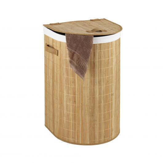 Cesto metti tutto Bambooleo semicircolare