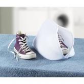 Saco lavadora para zapatos blanco