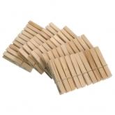 Molas de madeira para a rou+a