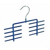 Colgador de corbatas James azul
