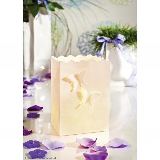 Iluminada decorativa Mariposas pña. 10p.