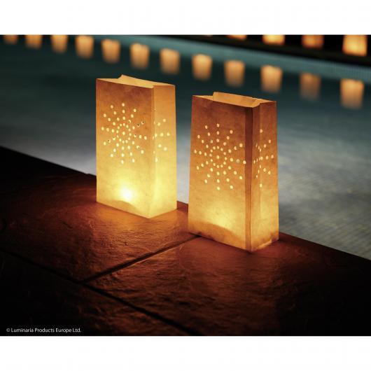 Lanterne Décorative Soleil, Grandes, 10 pièces