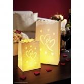Iluminazione decorativa Big Love piccola/grande 8p