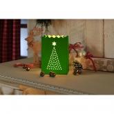 Lanternes Décorative Arbre de Noël Petite, 8 pièces