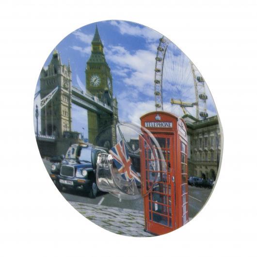 Static-Loc Percha mural UNO London