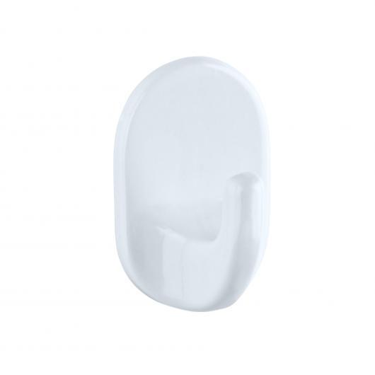 Perchas ovalada pequeña 3 unidades blanco