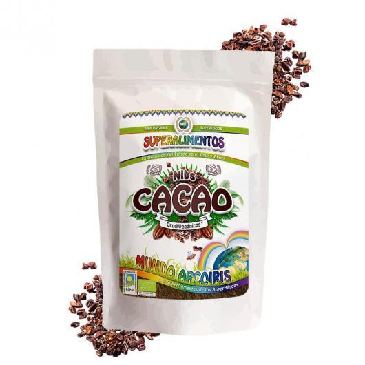 Nibs de cacao ecológico MUndo ArcoIris