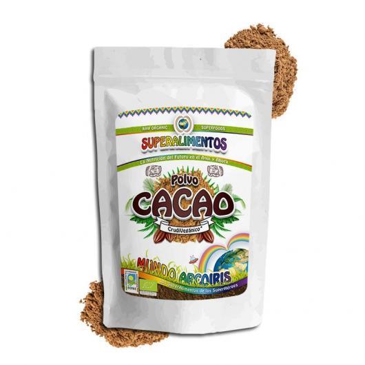 Polvo de Cacao ecológico Mundo ArcoIris