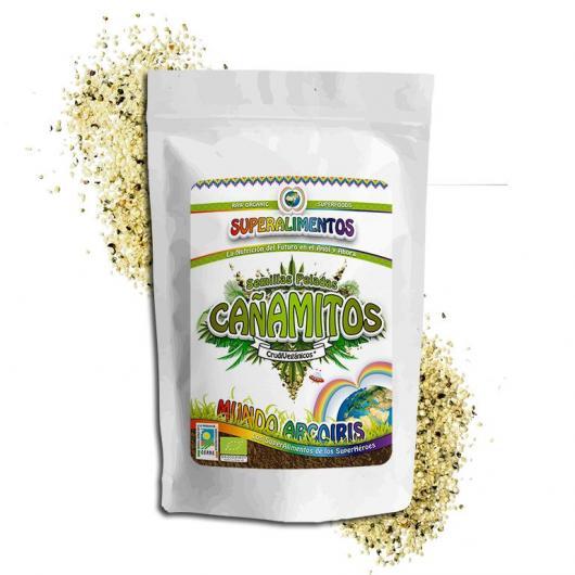 Cañamitos (semilla sin piel) ecológico Mundo ArcoIris