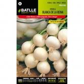 Semillas de  Cebolla blanca de la Reina