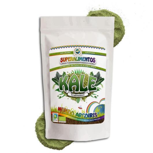 Kale (hoja dehidratada) Mundo ArcoIris