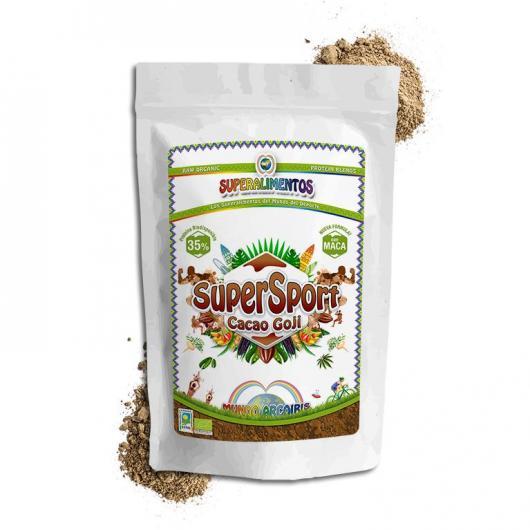 Supersport cacao goji ecológico Mundo Arcoris, 500 gr