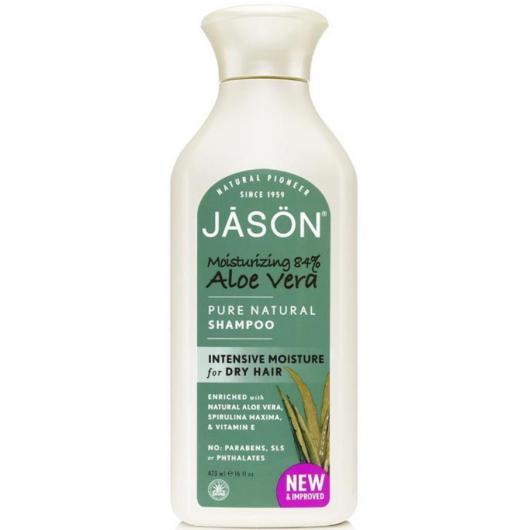 Shampoo Aloe Vera 84% Jason, 473 ml