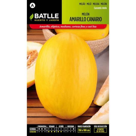 Semi di Melone Giallo Canario