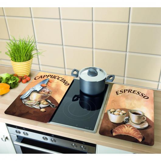 Tablas de vidrio para cocinas 2pzs Cafè