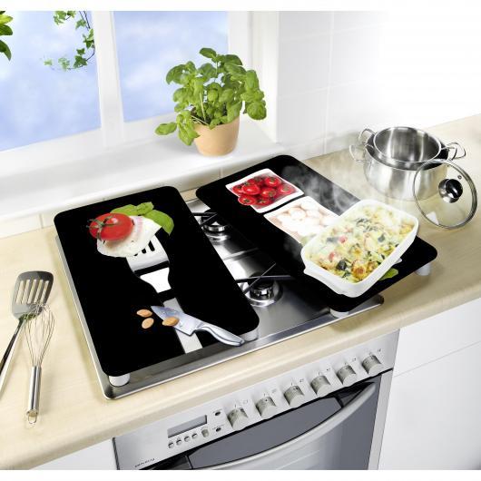 Tablas vidrio cocinas Caprese 2p